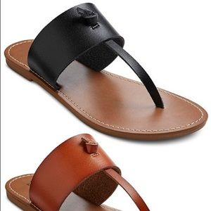 Mossimo supply co gladiator black sandals